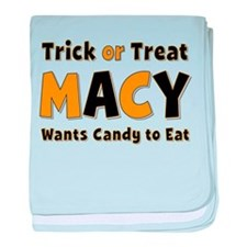 Macy Trick or Treat baby blanket