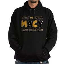 Macy Trick or Treat Hoodie