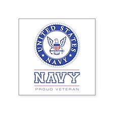 Navy - Proud Veteran Sticker