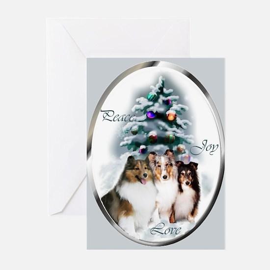 Shetland Sheepdog Christmas Cards (Pk Of 20)