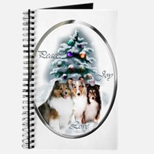 Shetland Sheepdog Christmas Journal