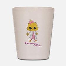 Pharmacy Chick Shot Glass