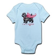Cairn Cancer Warrior Infant Bodysuit