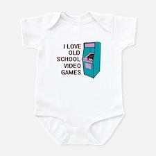 I Love Old School... Infant Bodysuit