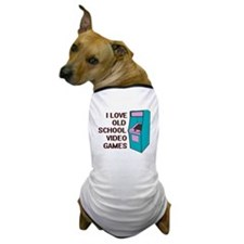 I Love Old School... Dog T-Shirt