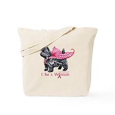 Cairn Cancer Warrior Tote Bag