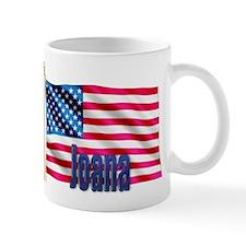 Joana Patriotic American Flag Gift Mug