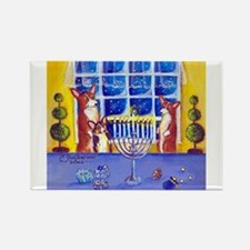 Oh Hannukah! Rectangle Magnet