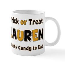Lauren Trick or Treat Mug