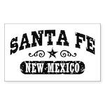 Santa Fe New Mexico Sticker (Rectangle)