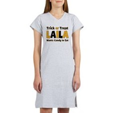 Laila Trick or Treat Women's Nightshirt
