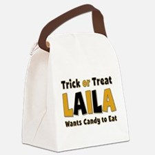 Laila Trick or Treat Canvas Lunch Bag