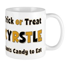 Kyrstle Trick or Treat Mug
