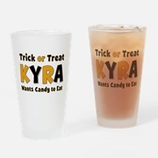 Kyra Trick or Treat Drinking Glass