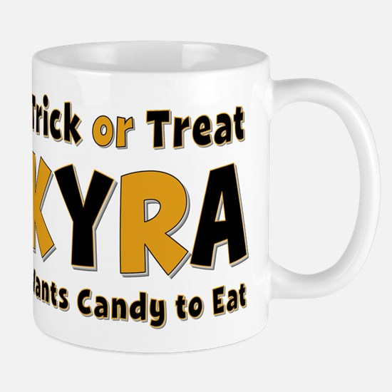 Kyra Trick or Treat Mug