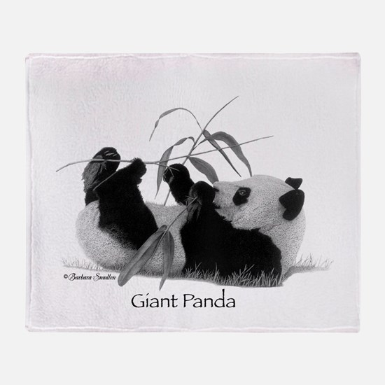 Giant Panda Throw Blanket