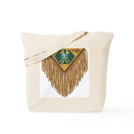 Thunderbird Leather Yoke Tote Bag