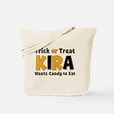 Kira Trick or Treat Tote Bag