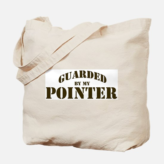 Pointer: Guarded by Tote Bag
