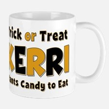 Kerri Trick or Treat Mug