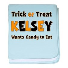 Kelsey Trick or Treat baby blanket