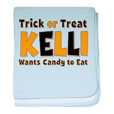 Kelli Trick or Treat baby blanket