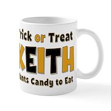 Keith Trick or Treat Mug