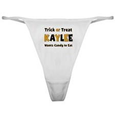 Kaylee Trick or Treat Classic Thong