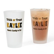 Kaylee Trick or Treat Drinking Glass