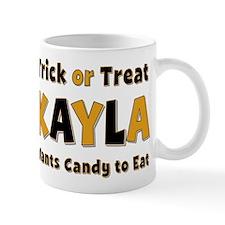 Kayla Trick or Treat Mug
