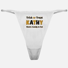 Kathy Trick or Treat Classic Thong