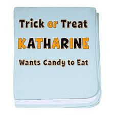 Katharine Trick or Treat baby blanket