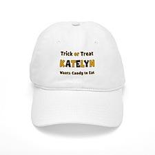 Katelyn Trick or Treat Baseball Baseball Cap