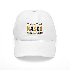 Kasey Trick or Treat Baseball Baseball Cap