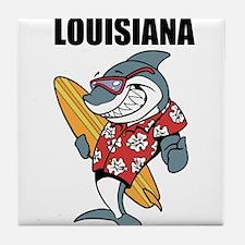 Louisiana Tile Coaster