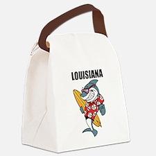 Louisiana Canvas Lunch Bag