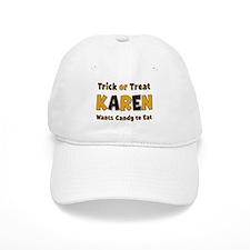 Karen Trick or Treat Baseball Baseball Cap