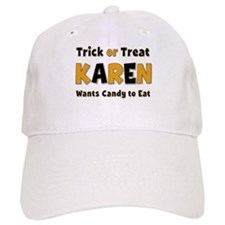 Karen Trick or Treat Baseball Cap