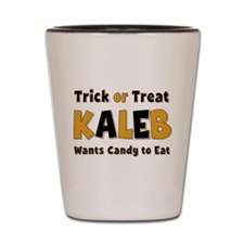 Kaleb Trick or Treat Shot Glass