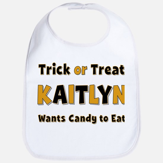Kaitlyn Trick or Treat Bib