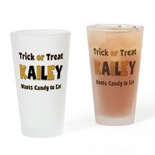 Kailey Trick or Treat Drinking Glass