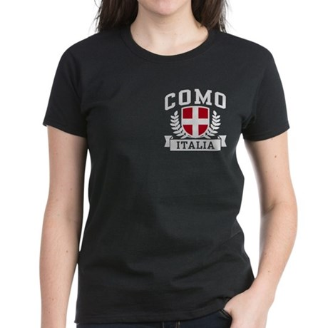 Como Italia Women's Dark T-Shirt