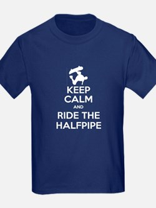 Keep Calm and Halfpipe T