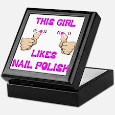 This Girl Likes Nail Polish Keepsake Box