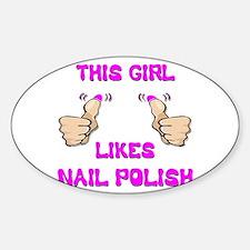 This Girl Likes Nail Polish Decal