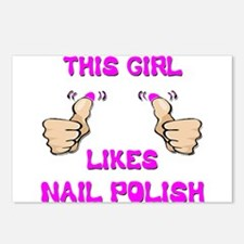 This Girl Likes Nail Polish Postcards (Package of