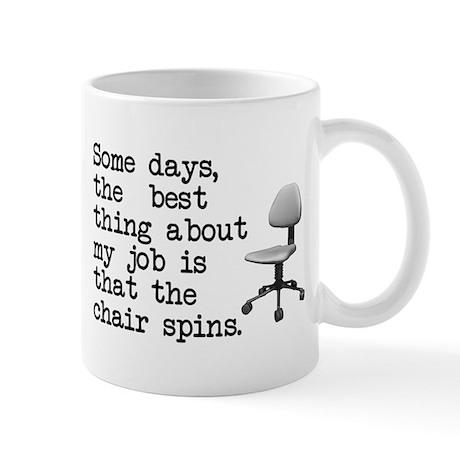 Job Chair Spins Mug