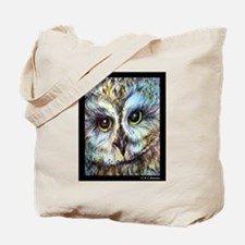 Owl, wildlife art! Tote Bag