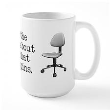Job Chair Spins Ceramic Mugs