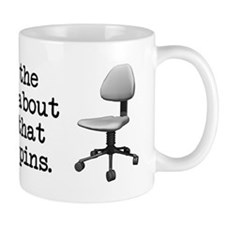 Job Chair Spins Mug